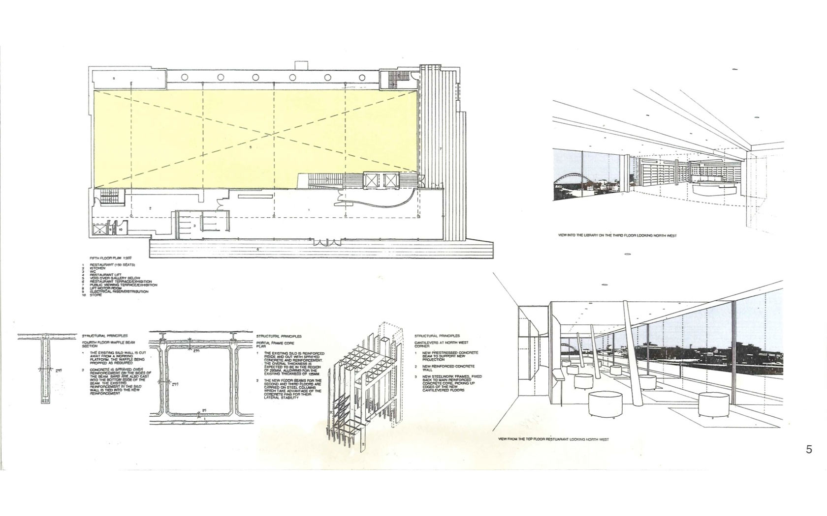 Baltic Mills centre for art   SEG Architects